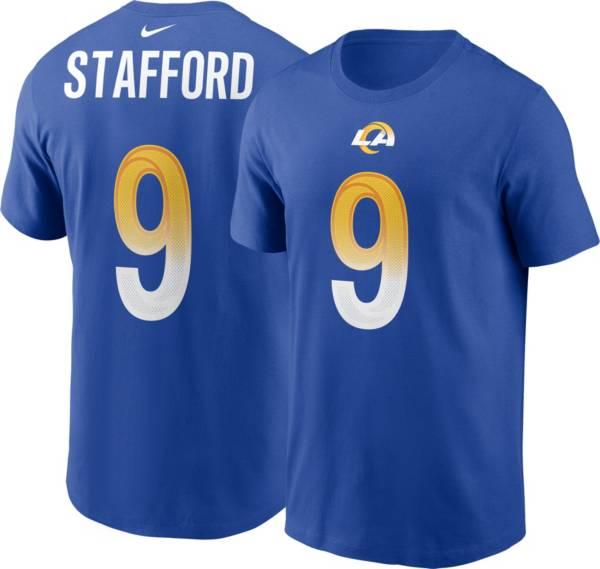Nike Men's Los Angeles Rams Matthew Stafford #9 Royal T-Shirt product image