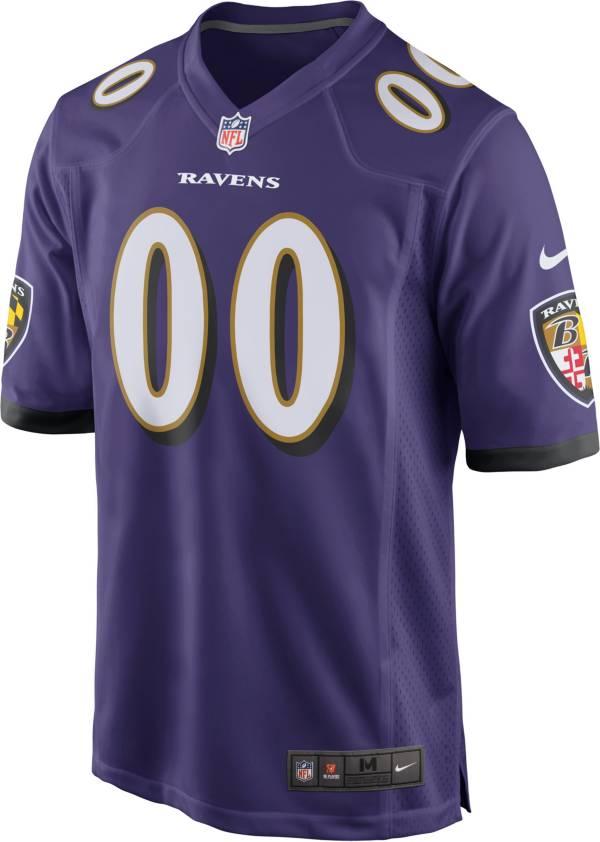 Nike Men's Baltimore Ravens Rashod Bateman Purple Game Jersey product image