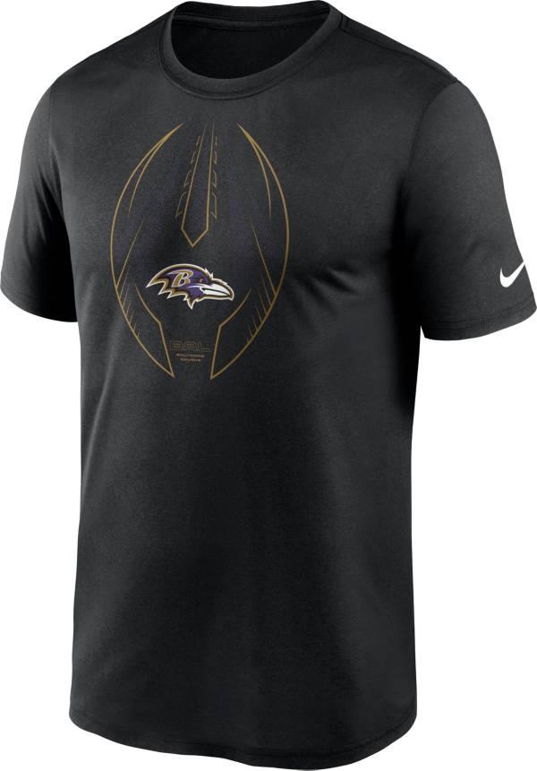 Nike Men's Baltimore Ravens Legend Icon Black Performance T-Shirt product image