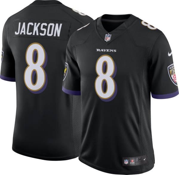 Nike Men's Baltimore Ravens Lamar Jackson #8 Black Alternate Limited Jersey product image