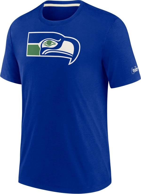 Nike Men's Seattle Seahawks Historic Tri-Blend Royal T-Shirt product image