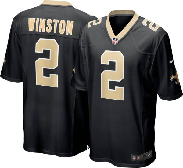 Nike Men's New Orleans Saints Jameis Winston #2 Red Game Jersey product image