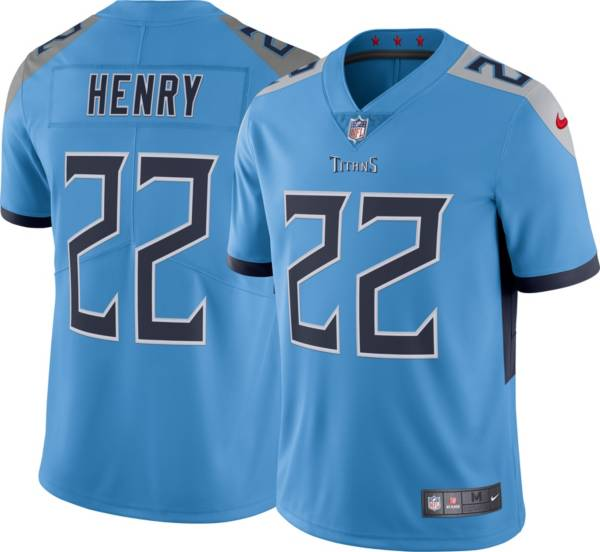 Nike Men's Tennessee Titans Derrick Henry #22 Blue Alternate Limited Jersey product image