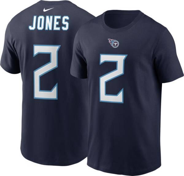 Nike Men's Tennessee Titans Julio Jones #2 Navy T-Shirt product image