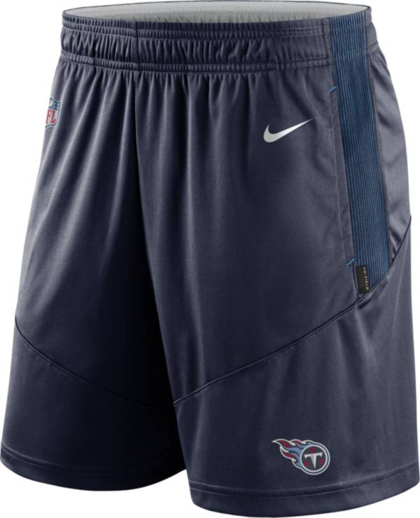 Nike Men's Tennessee Titans Sideline Dri-FIT College Navy Performance Shorts product image