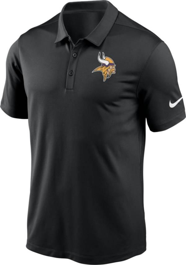 Nike Men's Minnesota Vikings Franchise Black Polo product image