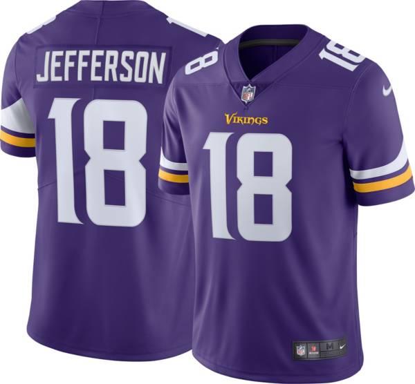 Nike Men's Minnesota Vikings Justin Jefferson #18 Purple Alternate Limited Jersey product image