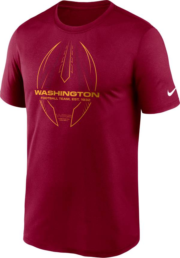 Nike Men's Washington Football Team Legend Icon Red Performance T-Shirt product image