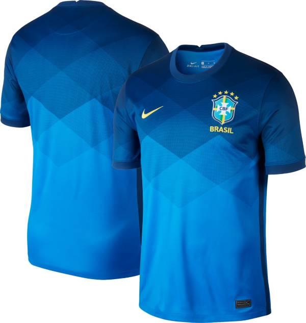 Nike Men's Brazil '20-'21 Breathe Stadium Away Replica Jersey product image