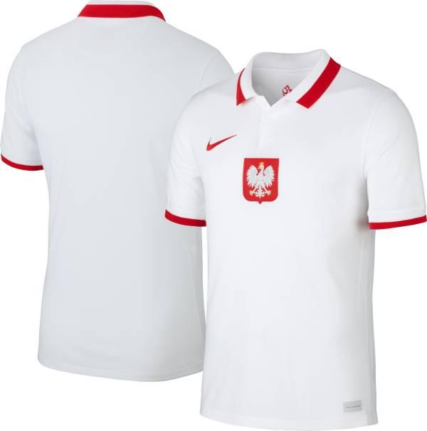 Nike Men's Poland '20-'21 Breathe Stadium Home Replica Jersey product image