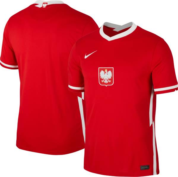 Nike Men's Poland '20-'21 Breathe Stadium Away Replica Jersey product image