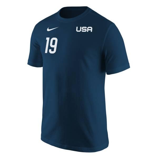Nike USA Soccer USWNT '21 Olympics Crystal Dunn Navy T-Shirt product image