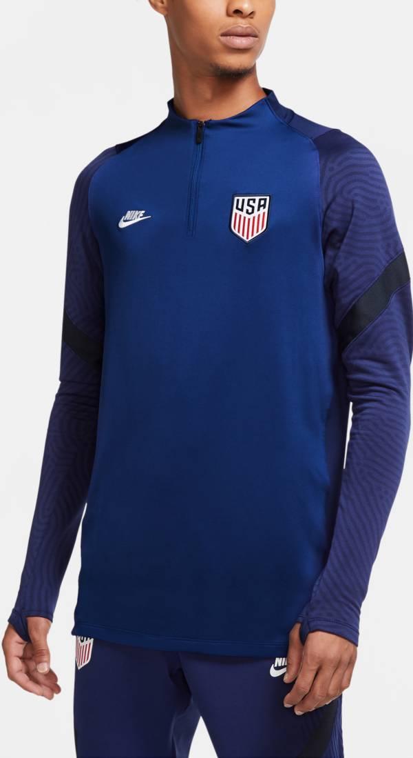 Nike Men's USA Soccer Training Quarter-Zip Navy Jacket product image