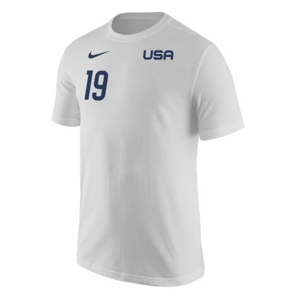 Nike USA Soccer USWNT '21 Olympics Crystal Dunn White T-Shirt product image