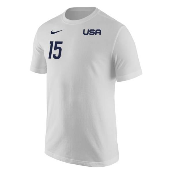 Nike USA Soccer USWNT '21 Olympics Megan Rapinoe White T-Shirt product image