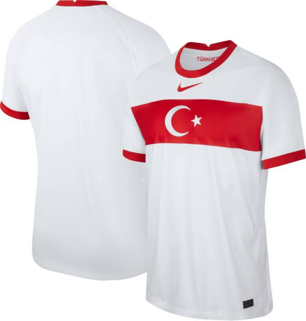 Nike Men's Turkey '20-'21 Breathe Stadium Home Replica Jersey product image