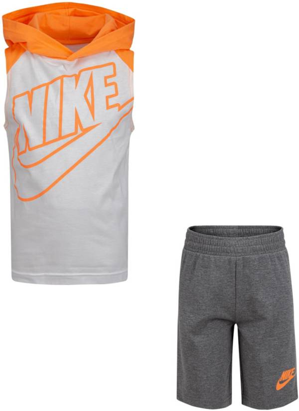 Nike Little Boys' Futura Hooded Tank Top and Shorts Set product image