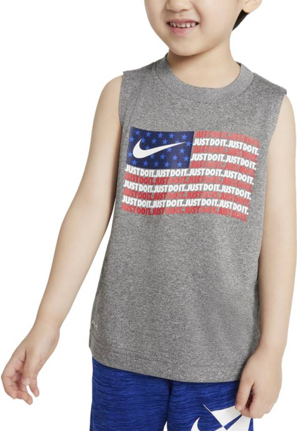 Nike Little Boys' Just Do It Flag Muscle Tank Top product image