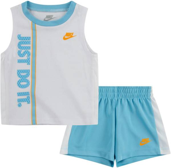 Nike Little Boys' Just Do It Graphic Tank Top and Mesh Shorts Set product image