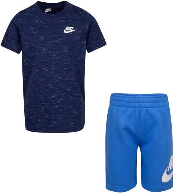 Nike Little Boys' Sportswear T-Shirt and French Terry Shorts Set product image