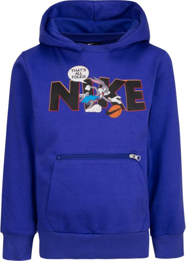 Nike Little Boys' Dri-FIT Space Jam 2 Basketball Pullover Hoodie product image