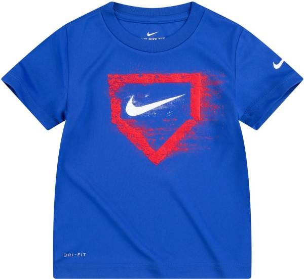 Nike Little Boys' Swoosh Chalk Home Plate Graphic T-Shirt product image