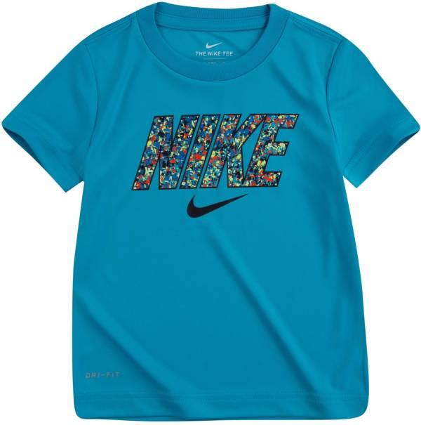 Nike Little Boys' Dri-FIT Digi Confetti Block Graphic T-Shirt product image