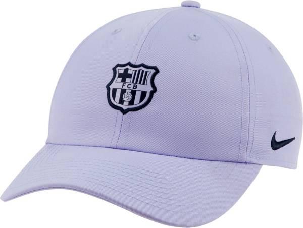 Nike Men's FC Barcelona Heritage86 Crest Purple Hat product image
