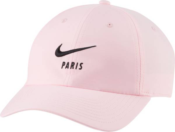 Nike Men's Paris Saint-Germain Heritage86 Swoosh Pink Hat product image