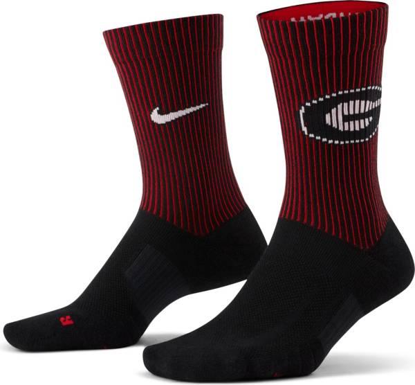 Nike Men's Georgia Bulldogs Multiplier 2-Pair Crew Socks product image