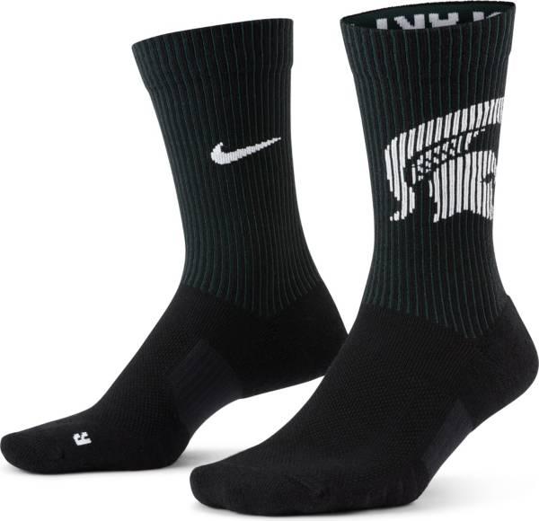 Nike Men's Michigan State Spartans Multiplier 2-Pair Crew Socks product image