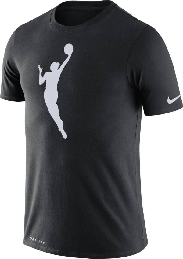 Nike Adult WNBA  Black Logo T-Shirt product image