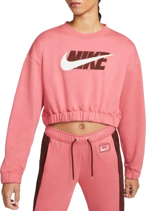 Nike Women's Sportswear Icon Clash Oversized Fleece Crewneck Sweatshirt product image
