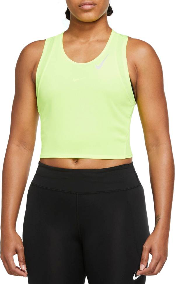 Nike Women's Dri-FIT Race Cropped Running Tank Top product image