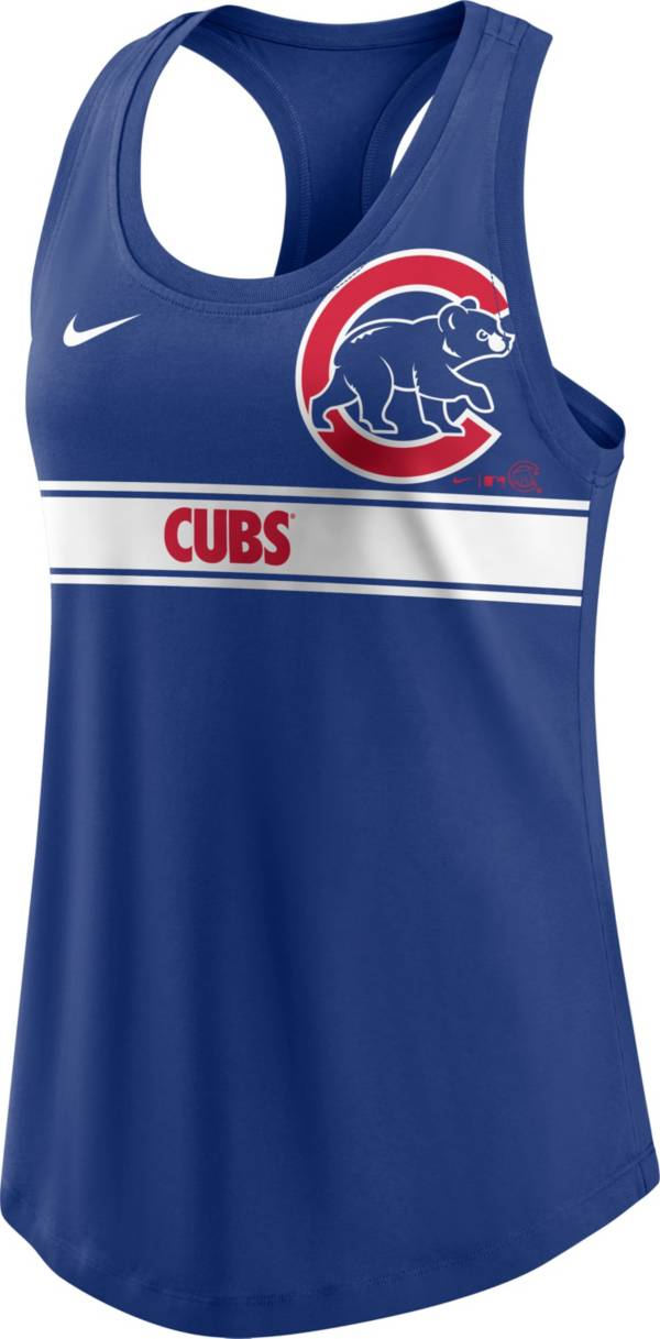 Nike Women's Chicago Cubs Blue Racerback Tank Top product image