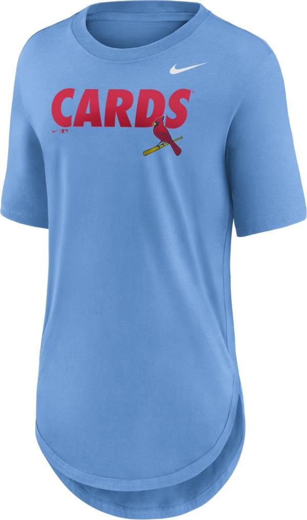 Nike Women's St. Louis Cardinals Blue Longline Weekend T-Shirt product image