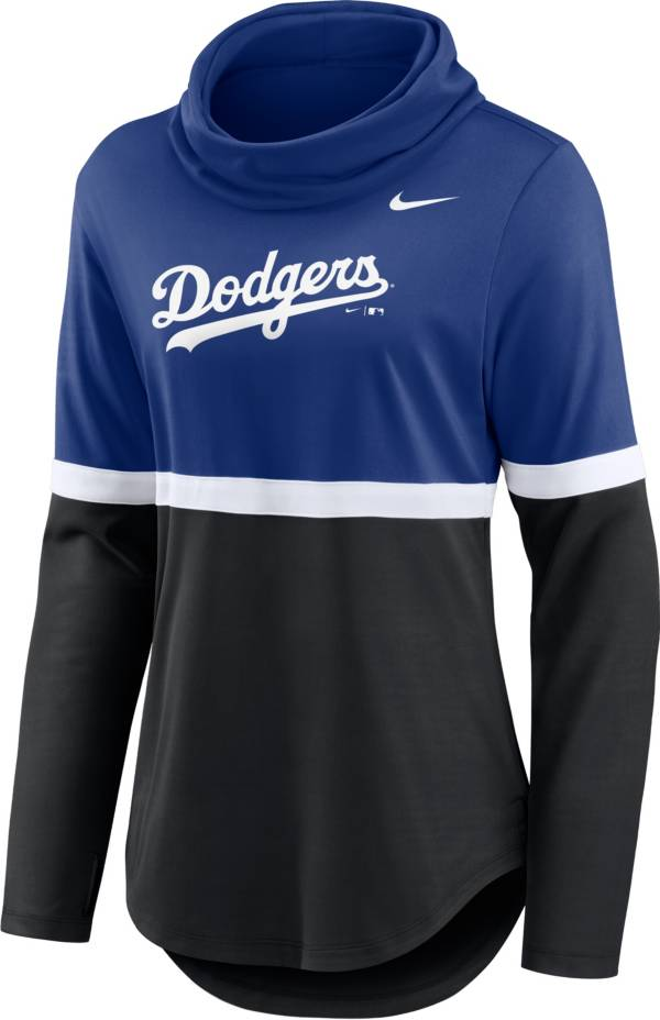 Nike Women's Los Angeles Dodgers Black Cowl Neck T-Shirt product image