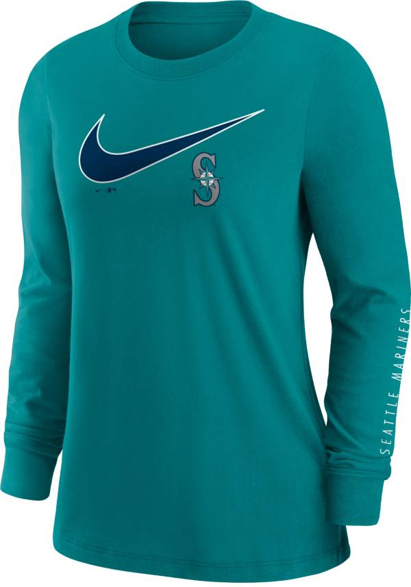 Nike Women's Seattle Mariners Green Long Sleeve T-Shirt product image
