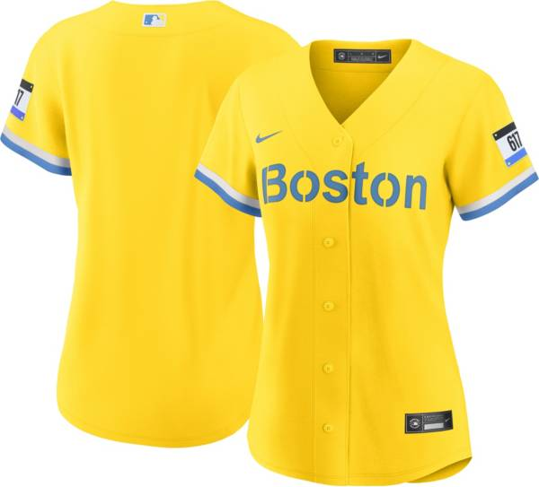 Nike Women's Boston Red Sox Gold 2021 City Connect Replica Baseball Jersey product image