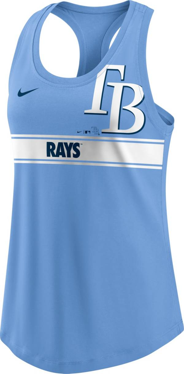 Nike Women's Tampa Bay Rays Blue Racerback Tank Top product image