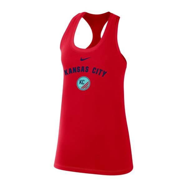 Nike Women's Kansas City Legend Red Racerback Tank Top product image