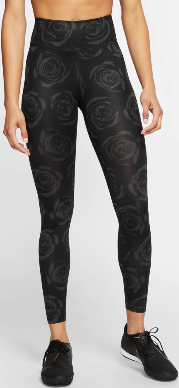 Nike Women's Portland Thorns One Mid-Rise Black Tights product image