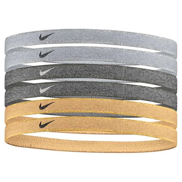 Nike Women's Metallic Sport Headbands - 6 Pack product image