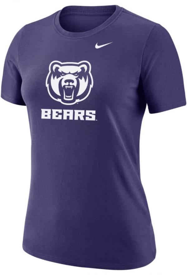 Nike Women's Central Arkansas Bears  Purple Dri-FIT Cotton T-Shirt product image