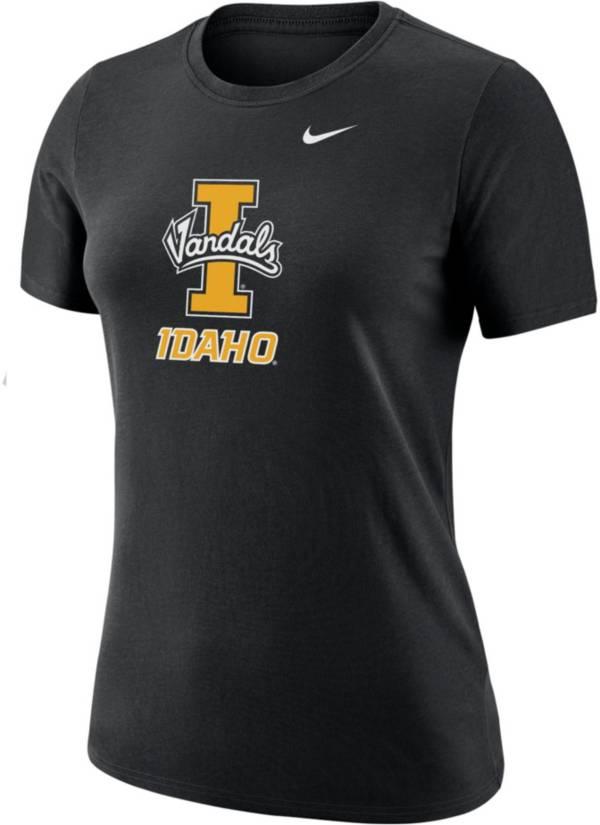 Nike Women's Idaho Vandals Dri-FIT Cotton Black T-Shirt product image