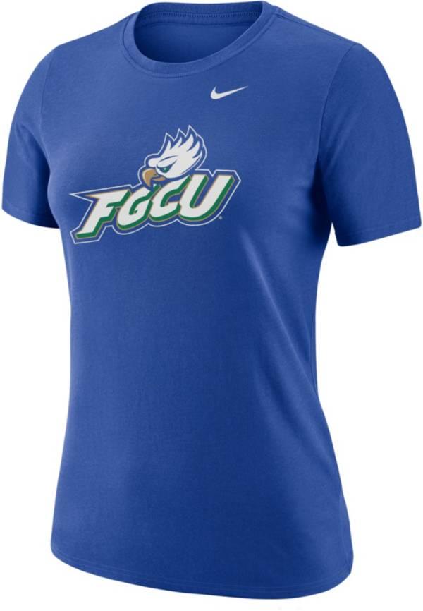 Nike Women's Florida Gulf Coast Eagles Cobalt Blue Dri-FIT Cotton T-Shirt product image