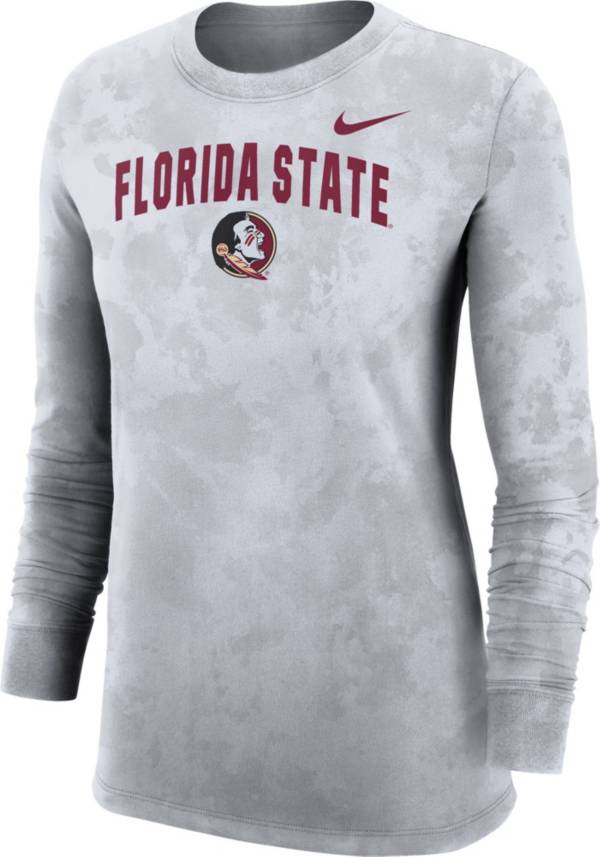Nike Women's Florida State Seminoles  Long Sleeve Cotton T-Shirt product image