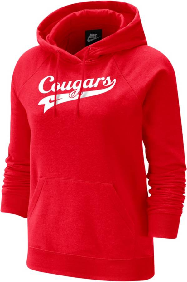 Nike Women's Houston Cougars Red Varsity Pullover Hoodie product image