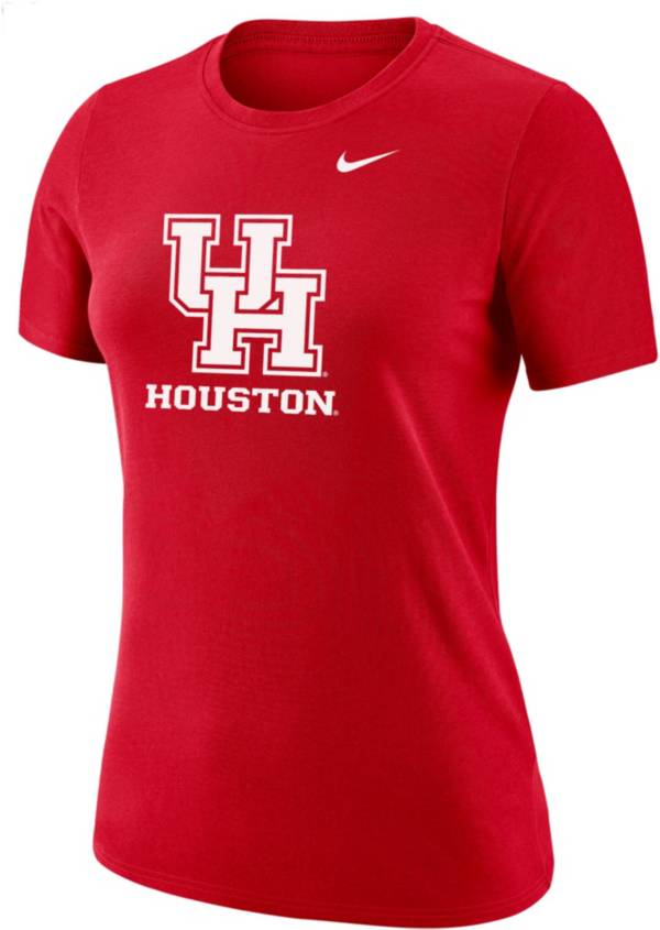 Nike Women's Houston Cougars Red Dri-FIT Cotton T-Shirt product image