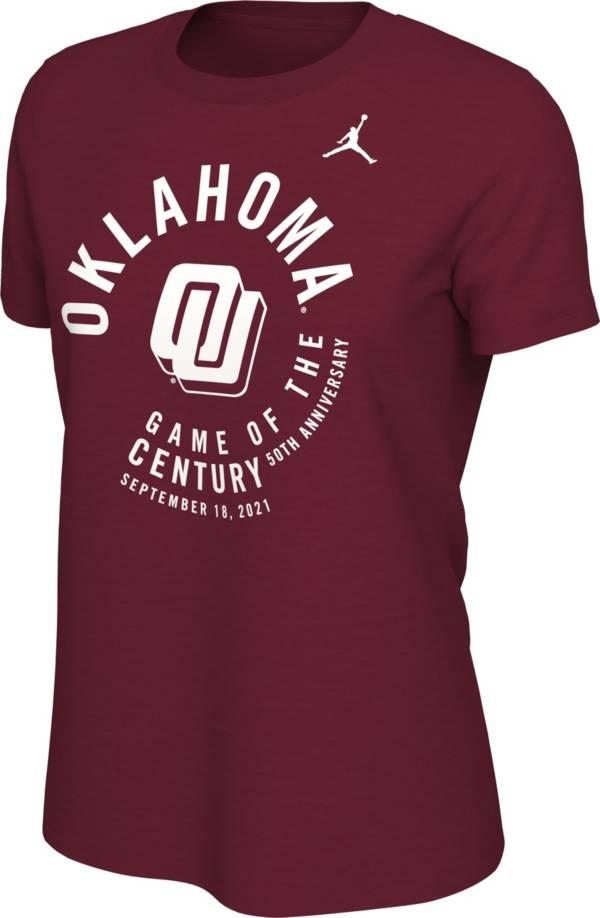Jordan Women's Oklahoma Sooners Crimson Game of the Century T-Shirt product image